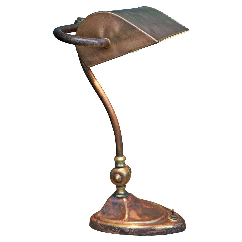 Banker s Desk Lamp at 1stdibs