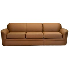 Sectional Corner or In-Line Sofa by Thayer Coggin