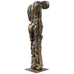"Bronze Sculpture ""Expectation"" by the Artist Emmée Parizot"