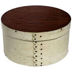 Sailor Made Whalebone Ditty Box, circa 1850