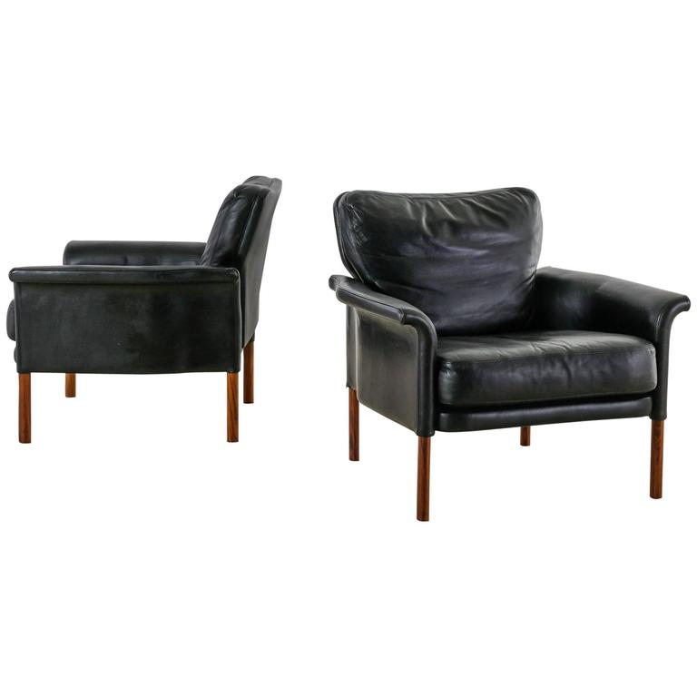 this pair of german black leather club chairs 1960s is no longer