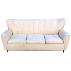 Italian Sofa in the Style of Guglielmo Ulrich