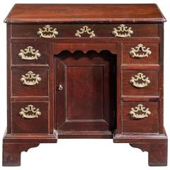 George II Period Kneehole Desk