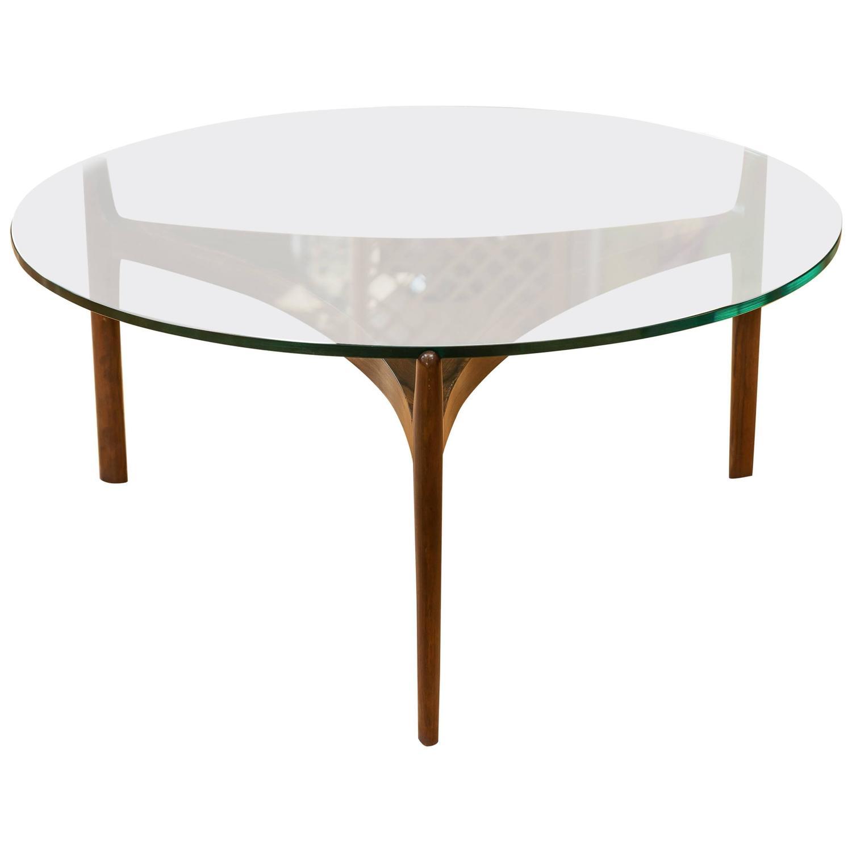 Sven Ellekaer Danish Modern Rosewood Coffee Table At 1stdibs