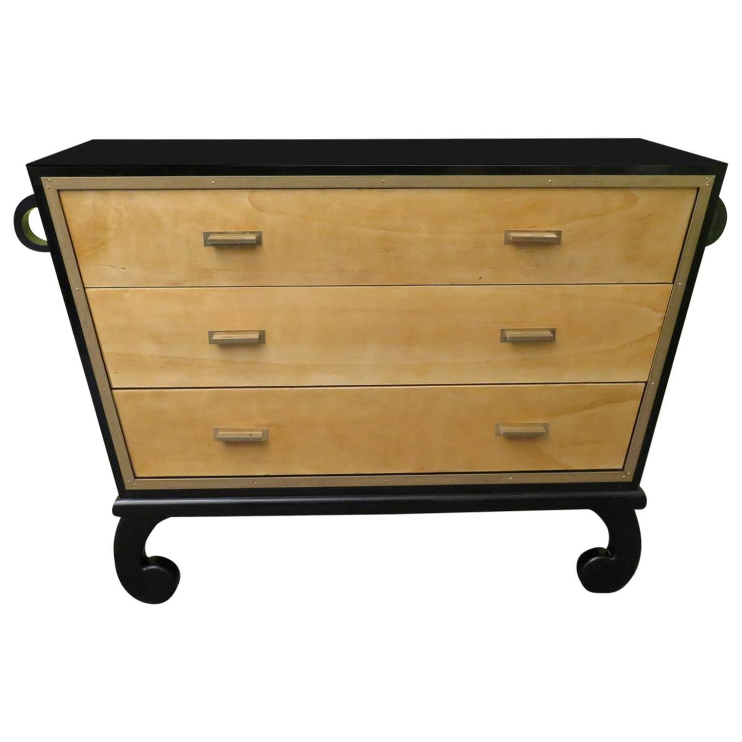 particularly art deco commode for sale at 1stdibs. Black Bedroom Furniture Sets. Home Design Ideas