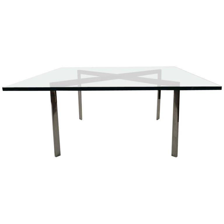 Knoll barcelona table designed by ludwig van der rohe at 1stdibs - Barcelona table knoll ...