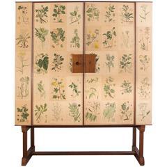 """Vintage 1950s Josef Frank """"Nordens Flora"""" Cabinet"""