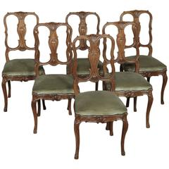 Antique vintage dining room chairs for sale in new for Dining room sets near me