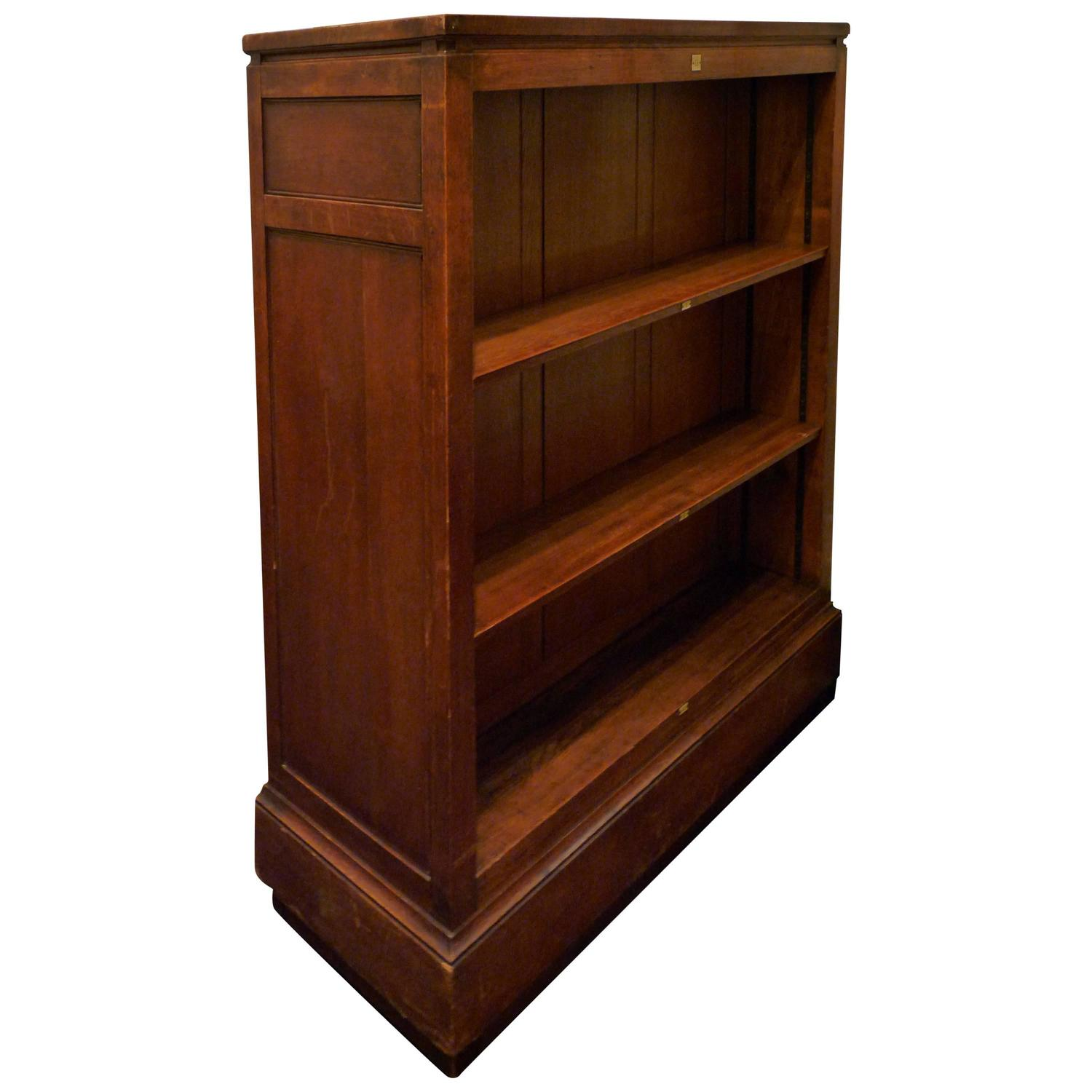 Double Sided Bookcase At 1stdibs