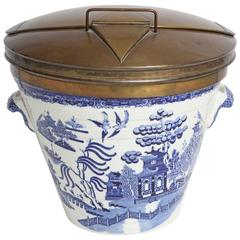 Pure Milk Willow Ware Milk Pail
