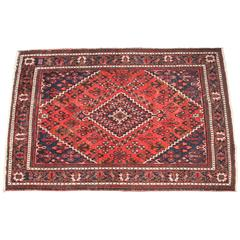 Red and Blue Persian Rug