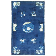 Blue Chinese Peking Rug