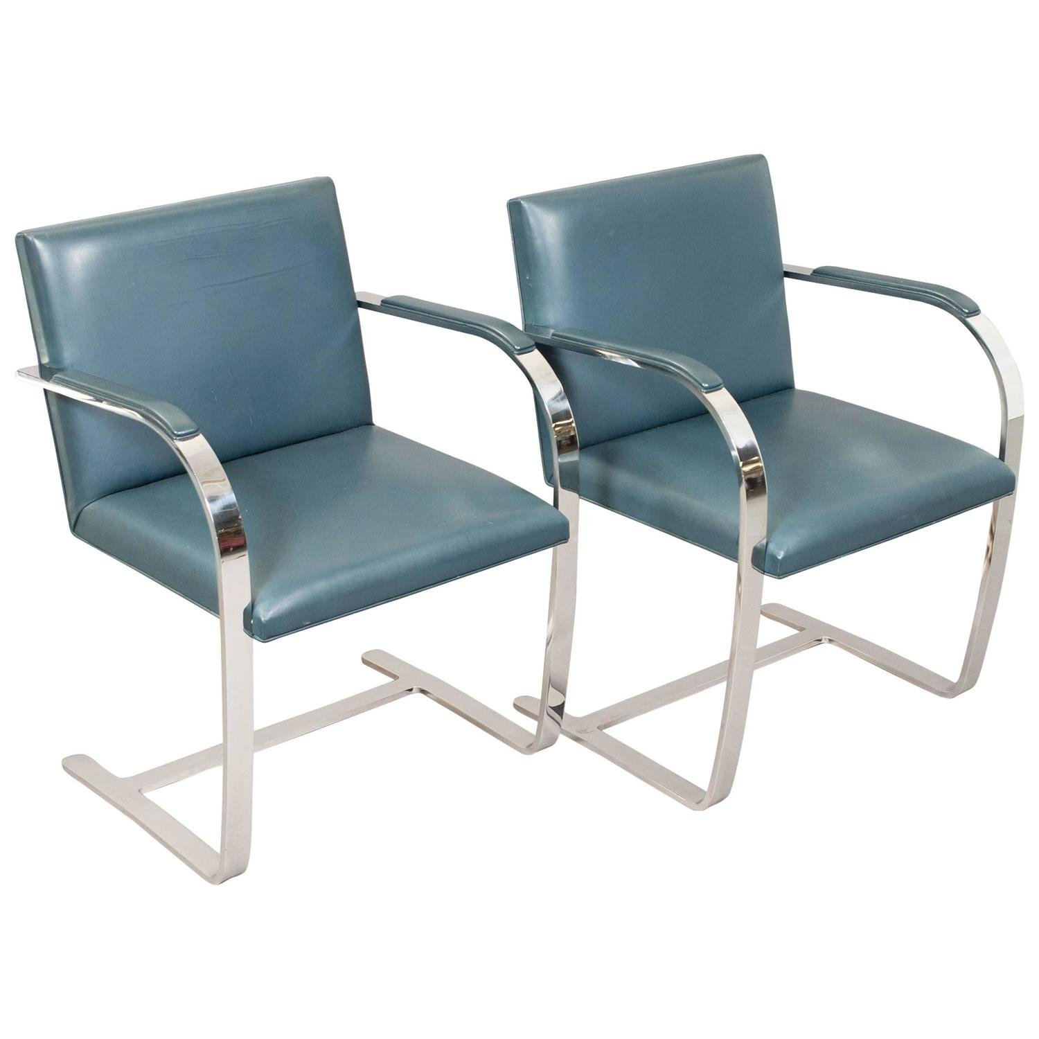 Mies Van Der Rohe Brno Chairs For Knoll International At