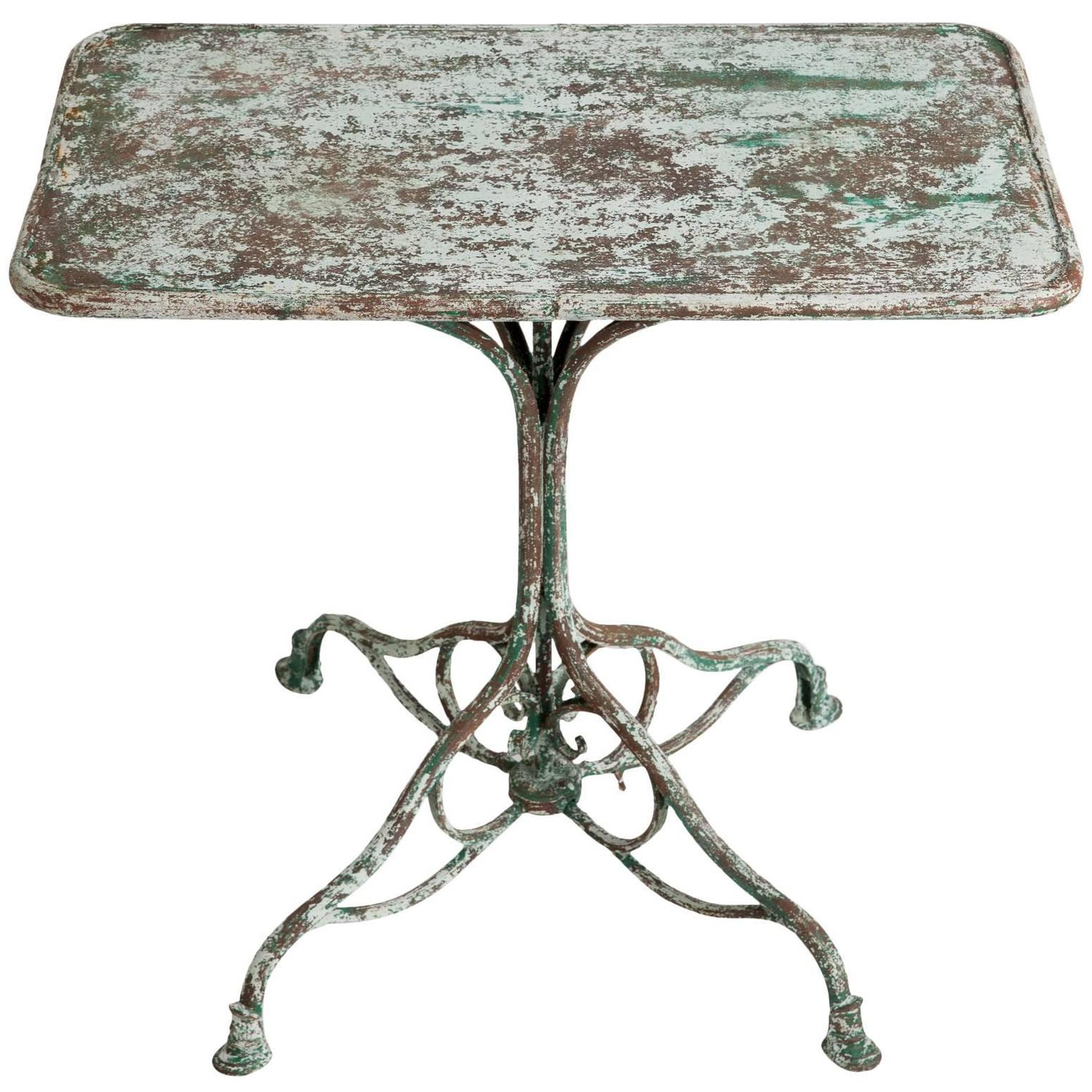 French Antique Wrought Iron Garden Table From Arras, Circa 1900 For Sale At  1stdibs Part 98