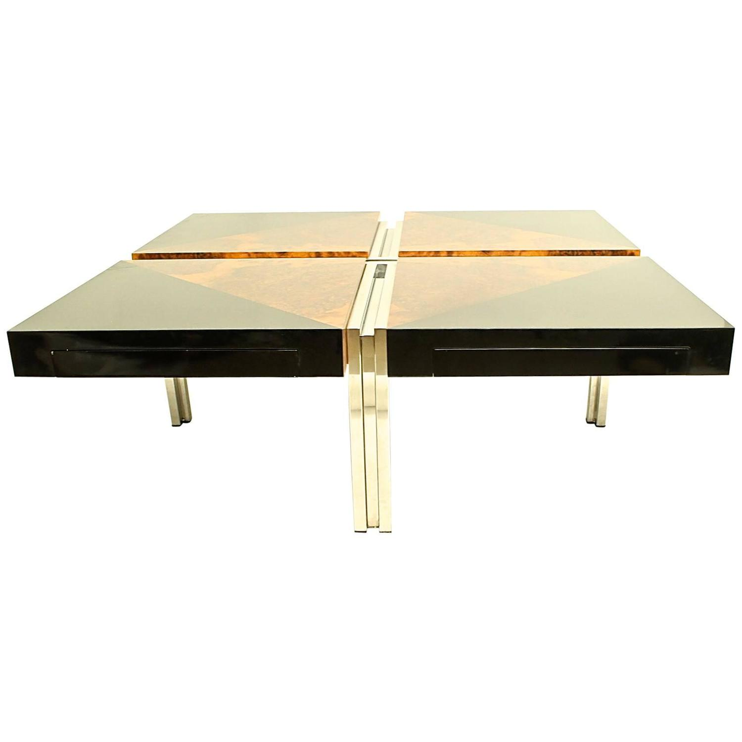 Stunning Root And Solid Wood Coffee Table At 1stdibs