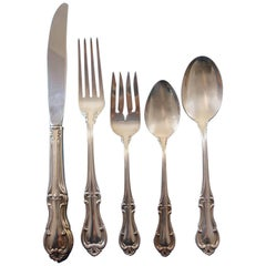 Joan of Arc by International Sterling Silver Flatware Place Size 60 Pieces Set