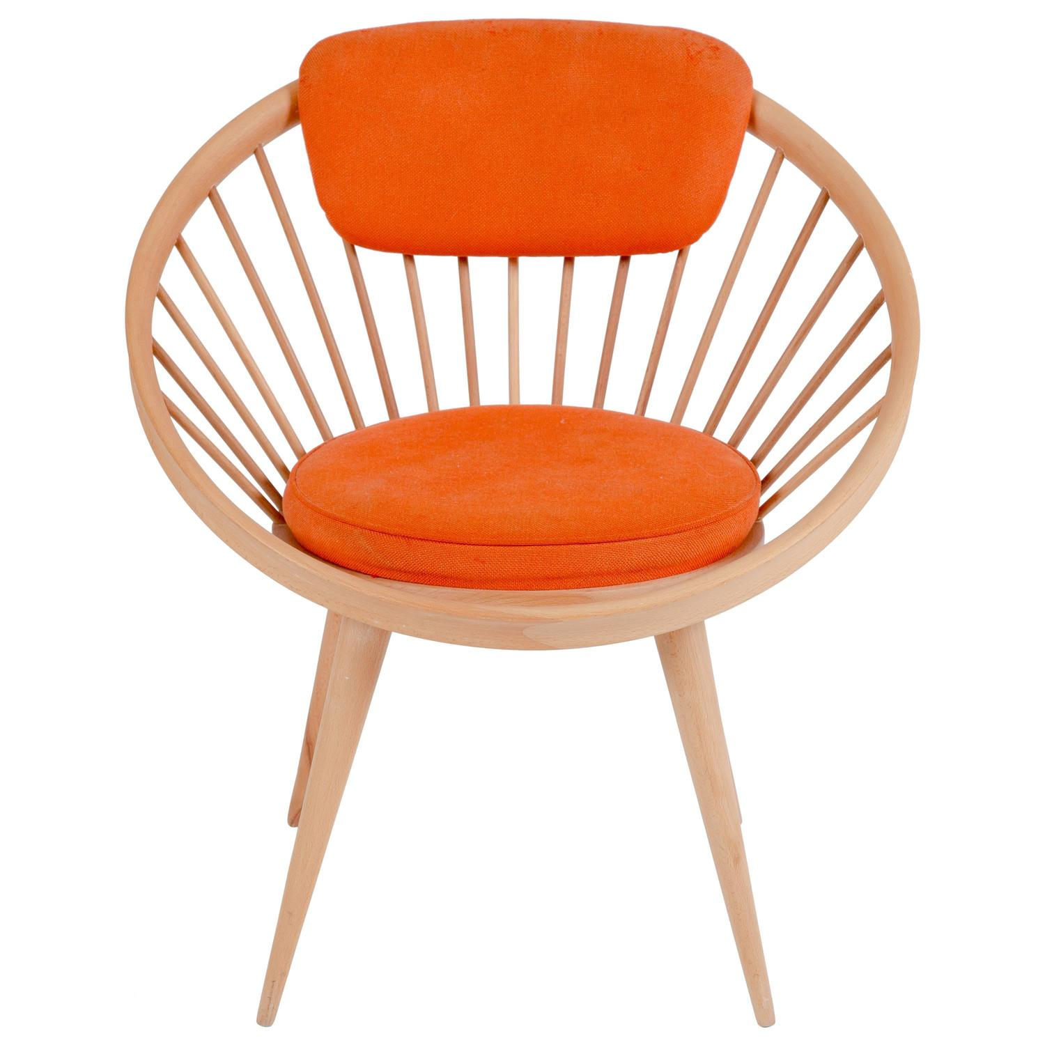 Circle Chair of Yngve Ekström at 1stdibs