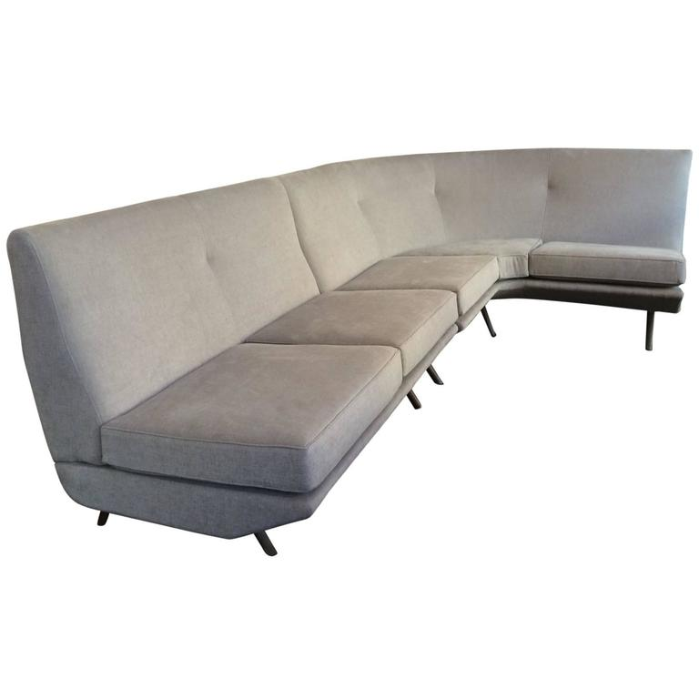 Sectional Triennale Sofa by Marco Zanuso For Sale