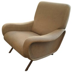 "Set of Three ""Lady"" Chairs by Zanuso"
