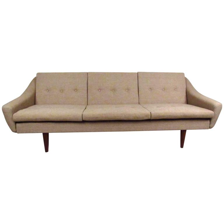 Danish Modern Dux Style Sofa At 1stdibs