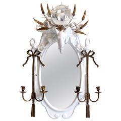 Elephant Prince, Objet Trouve Plaster Mirror