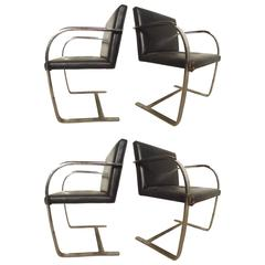 "Set of Four ""Brno"" Chairs for Knoll"