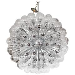 Polished Chrome Sputnik Chandelier