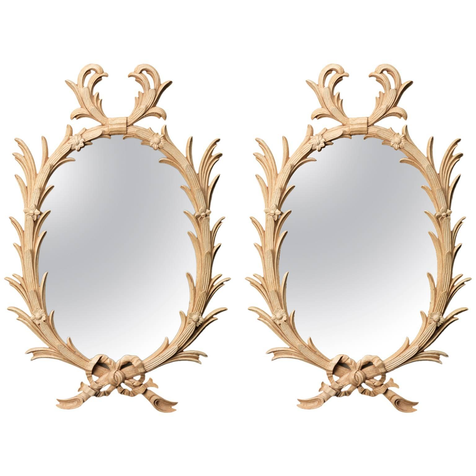 Palm Mirror in the manner of John Linnell