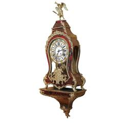 Large Louis XV Style Bracket Clock 19th Century