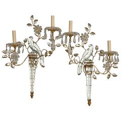 Pair of French Two-Light Sconces