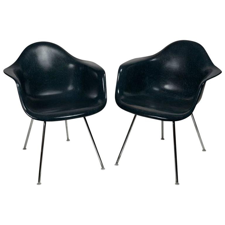 Pair of herman miller world 39 s fair chairs at 1stdibs - Fauteuil herman miller ...