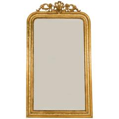 Louis Philippe Trumeau Mirror