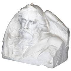Monumental Plaster Sculpture