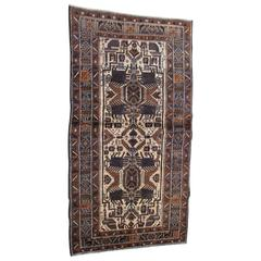 Antique Persian Baluchi Rug