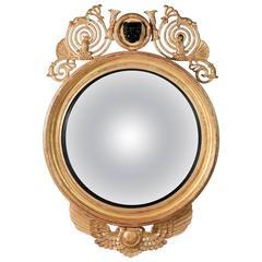 Regency Leopard Convex Mirror