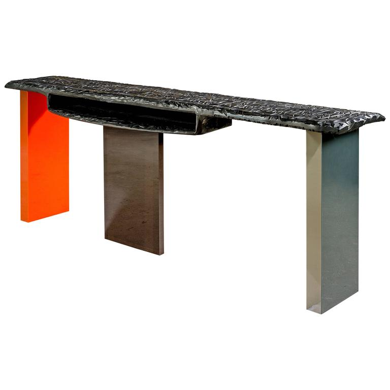 "Charly Bounan, ""Calciné"" Unique Desk"