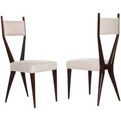 Pair of Graphic Side Chairs