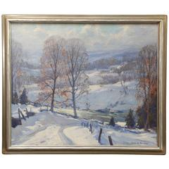 Emile Gruppe Painting, 1950s