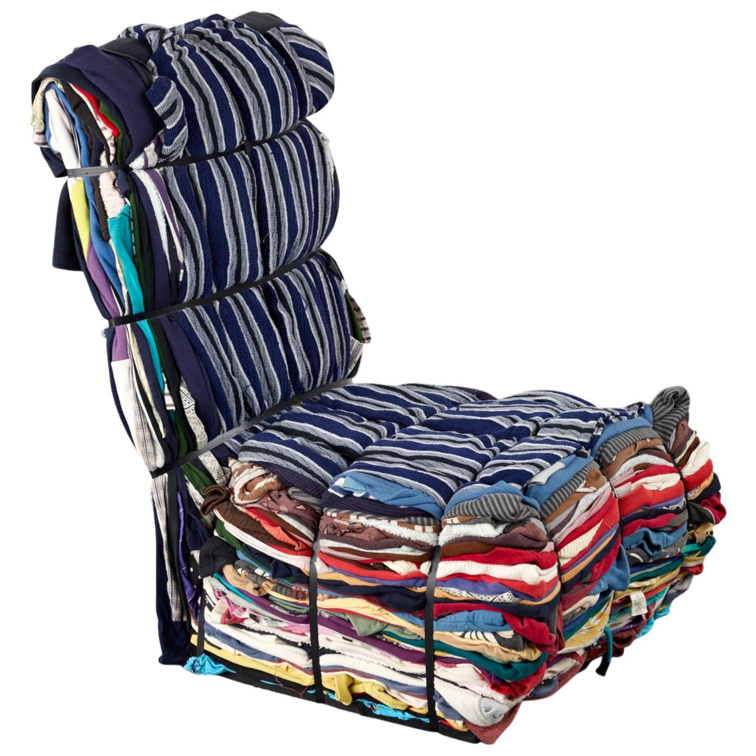 Tejo Remy Rag Chair For Droog Design Sale At 1stdibs