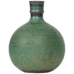 Stig Lindberg Ceramic Vase Produced in Sweden