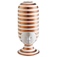 Sister Clara Vase Special Edition Copper Stripes Designed by Pepa Reverter