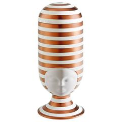 Sister Clara Vase Special Edition Copper Stripes Designed by Pepa Reverter