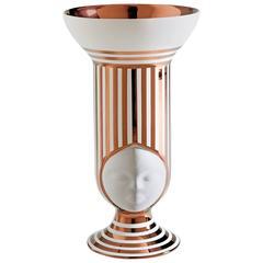 Sister Frida Vase Special Edition Copper Stripes Designed by Pepa Reverter