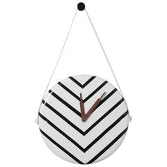 Horamur Wall Clock Special Edition Stripes Designed by Jaime Hayon