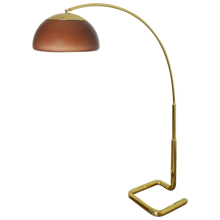 this huge brass arc lamp by cosack germany 1970s is no longer. Black Bedroom Furniture Sets. Home Design Ideas