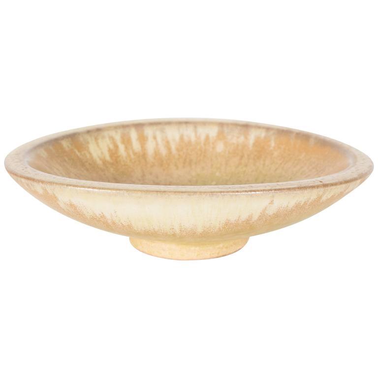Handsome Ceramic Bowl by Gunnar Nylund for Rörstrand