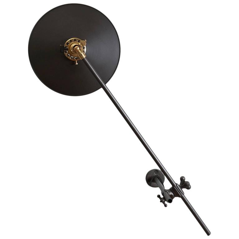 Industrial wall lamp, 2016, offered by Workstead
