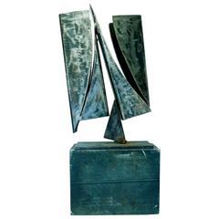 20th Century Modern Art Steel Sculpture