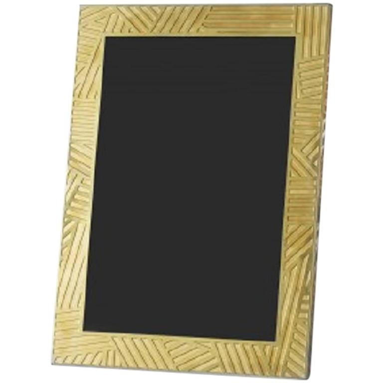 lara bohinc the wilkinson series large brass frame for. Black Bedroom Furniture Sets. Home Design Ideas