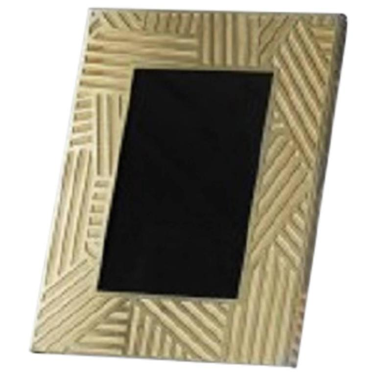 lara bohinc the wilkinson sseries small brass frame for. Black Bedroom Furniture Sets. Home Design Ideas